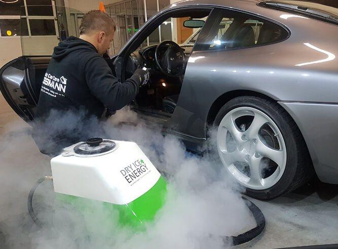Trockeneis Fahrzeug Reinigung in Haltern und Recklinghausen